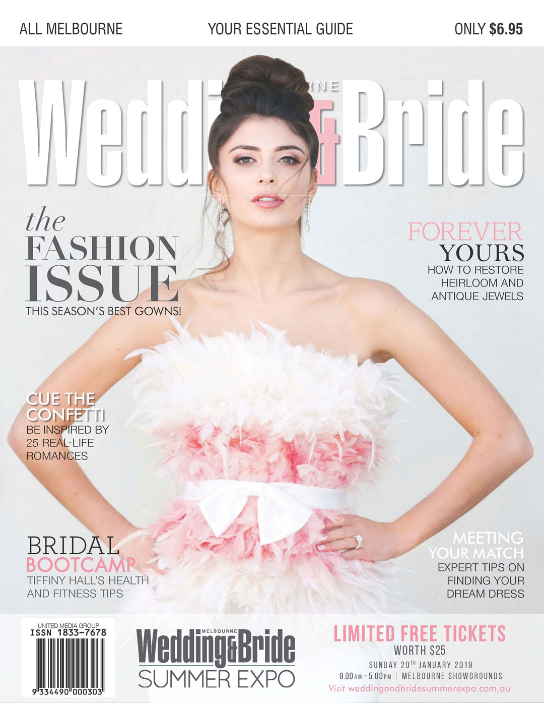 Melbourne wedding and bride magazine
