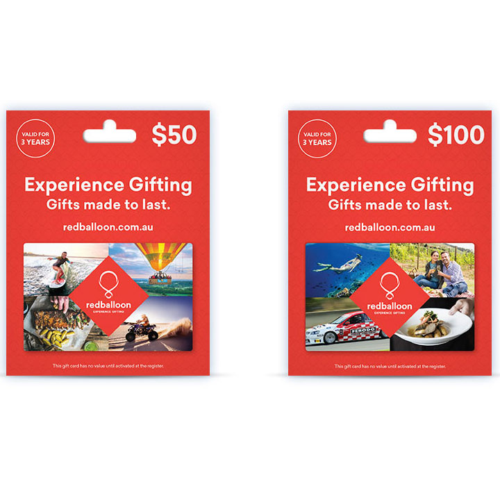 Wedding Gift - Red Balloon Sky diving activity gift vouchers