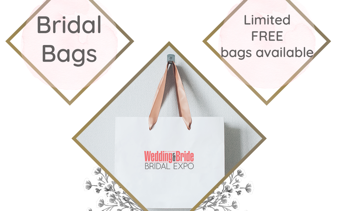 FREE Bridal Bag giveaway at the Melbourne Bridal Expo
