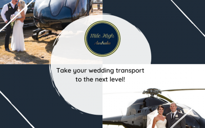 Take your wedding transport to the next level!