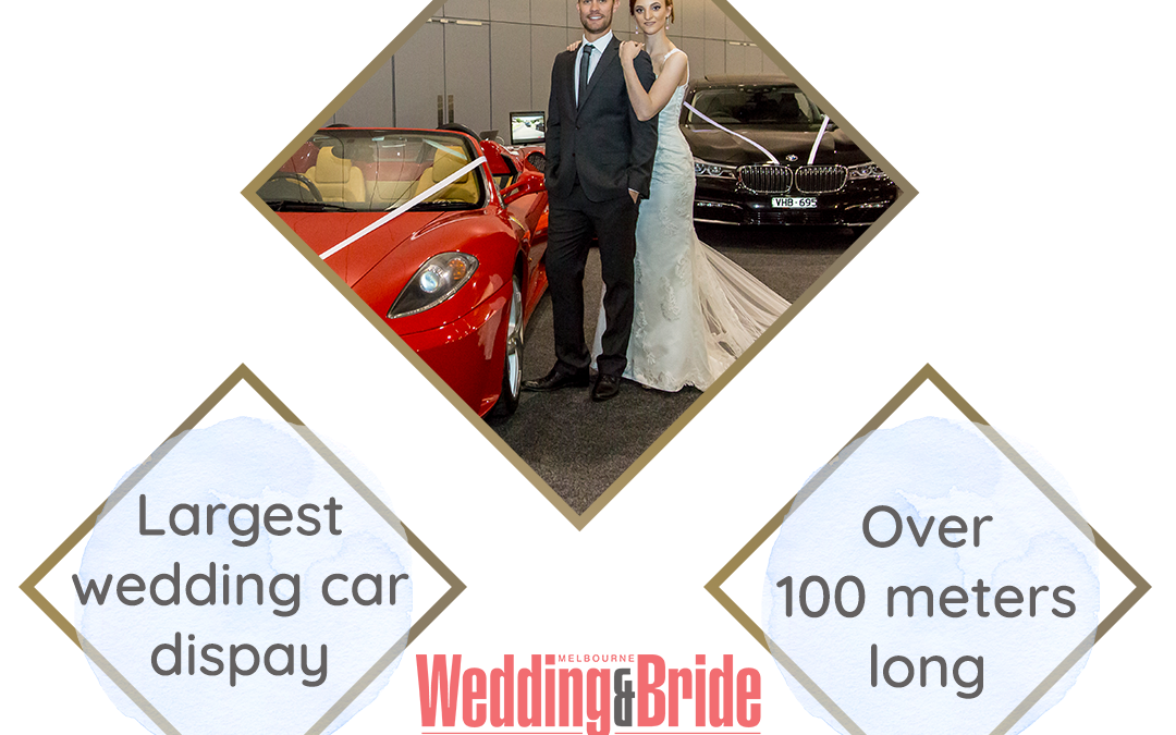 Largest  Wedding Car Display at the Largest Bridal Expo