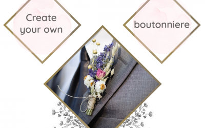 Create your own boutonniere at the Bridal Expo Melbourne