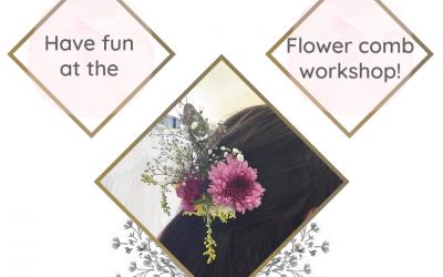 Flower Comb Workshop – Spring Bridal Expo